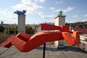 Über den Dächern von Esslingen - Birgit Rehfeldt